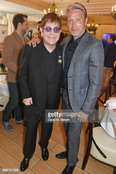Sir Elton John and Mads Mikkelsen attend the World Premiere screening of 'The Cut' Sir Elton John and Bernie Taupin's classics 'Rocket Man' 'Tiny...