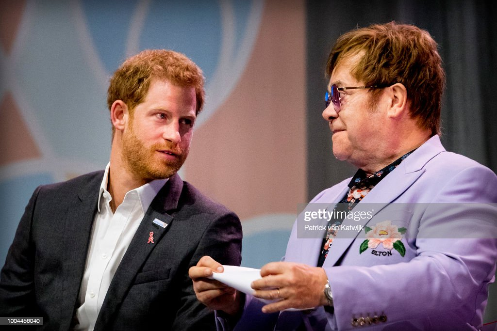 Royals And Celebrities Attend International AIDS Conference 2018 : Nachrichtenfoto