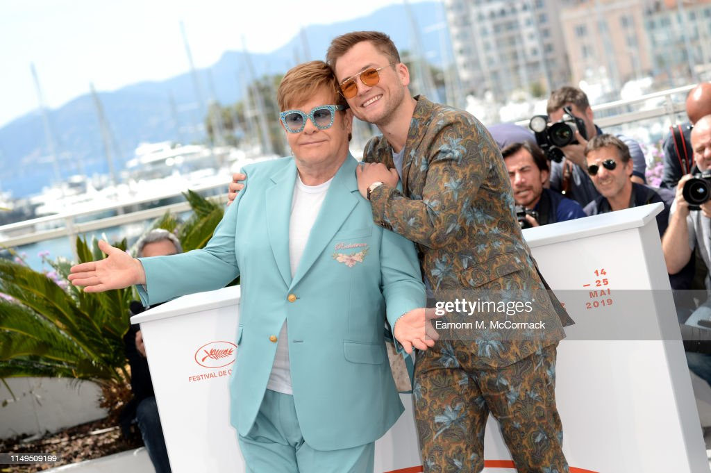 """Rocketman"" Photocall -The 72nd Annual Cannes Film Festival : News Photo"