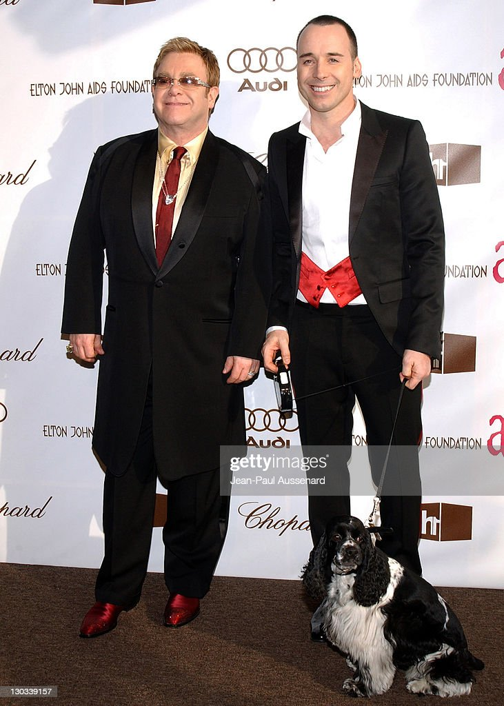 14th Annual Elton John AIDS Foundation Oscar Party Co-hosted by Audi, Chopard and VH1 - Arrivals : News Photo