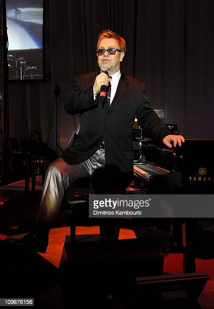Sir Elton John during 15th Annual Elton John AIDS Foundation Oscar Party Show at Pacific Design Center in West Hollywood California United States
