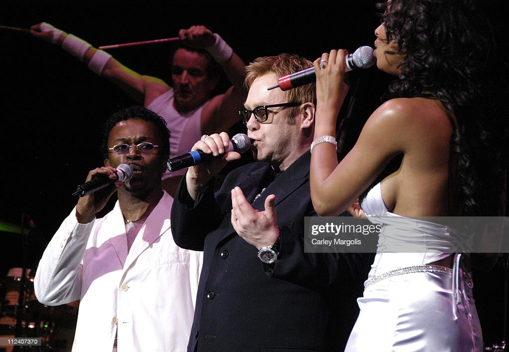 Sir Elton John during We Are Family Foundation To Honor Sir Elton John, Quincy Jones, Tommy Hilfiger, and The Comcast Family of Companies at The Manhattan Center Hammerstein Ballroom in New York City, New York, United States.