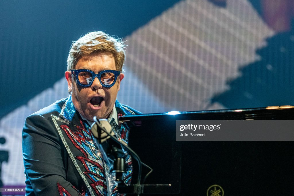 SWE: Elton John Performs In Gothenburg