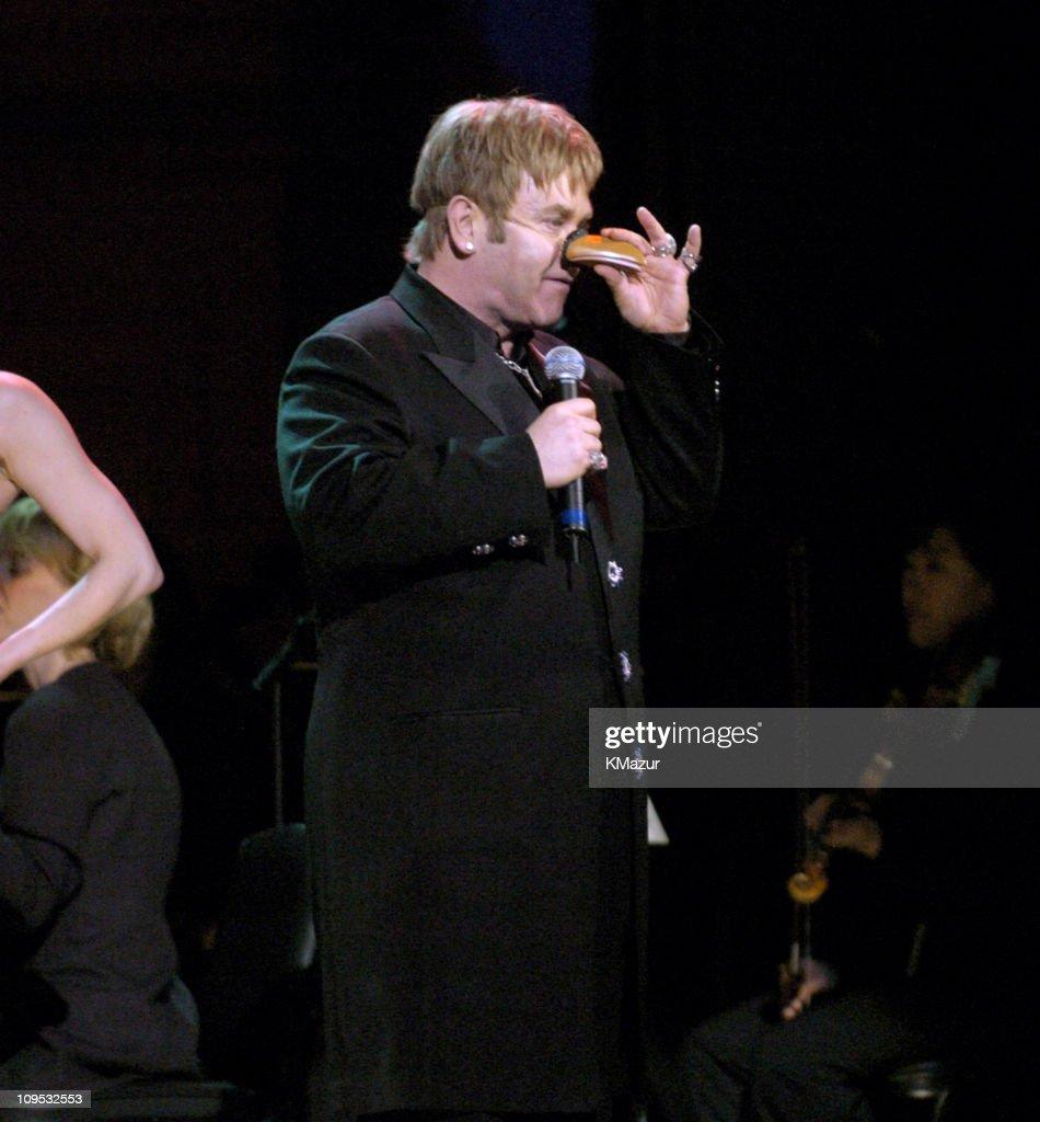 Sir Elton John Performs the Woody Wood Pecker Theme Song