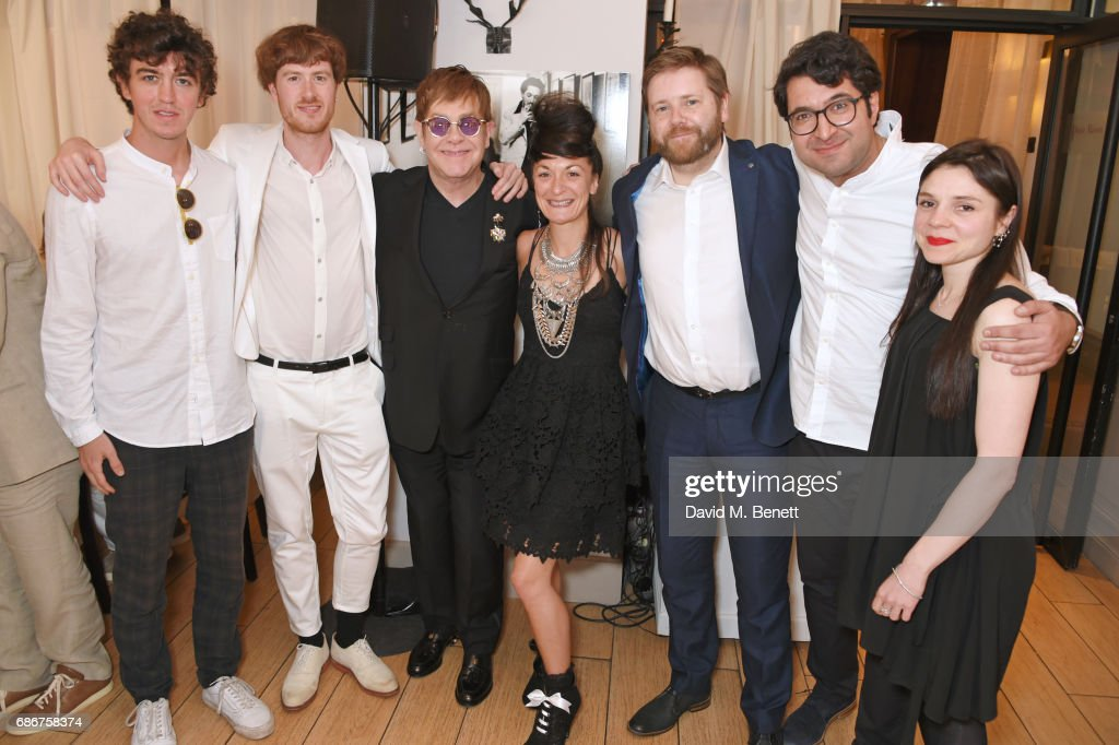 """Elton John's """"The Cut"""" Lunch And World Premiere Screening Event With YouTube At The Cannes Film Festival : News Photo"""