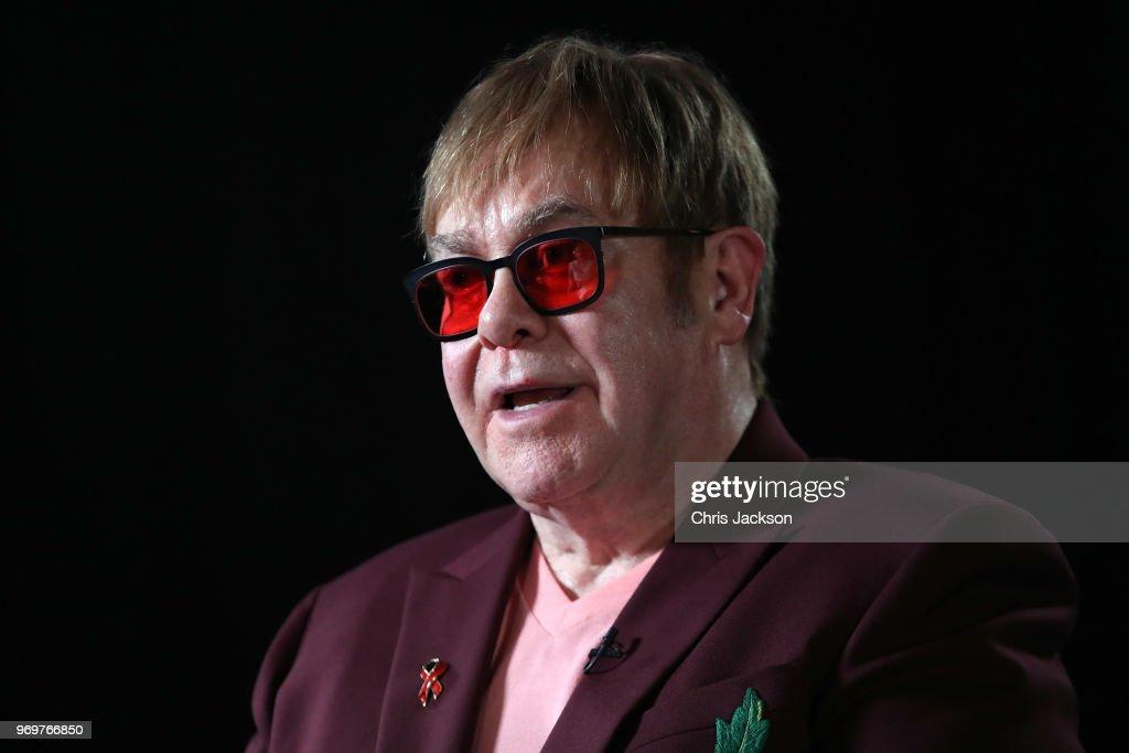 Princess Diana Memorial Lecture By Elton John : News Photo