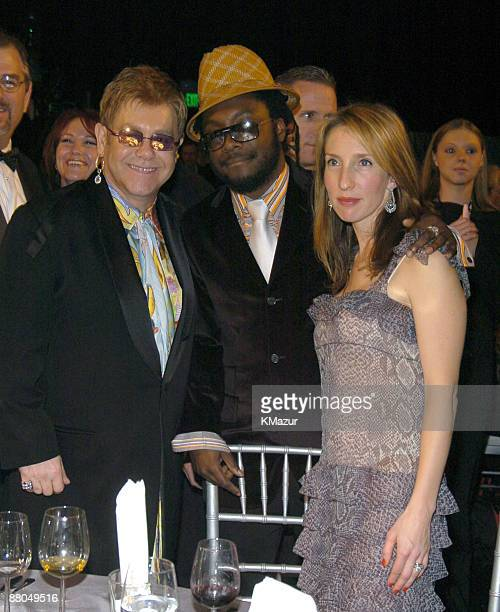 Sir Elton John wiliam of Black Eyed Peas and guest
