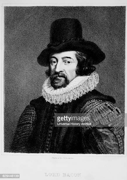 Sir Francis Bacon English Philosopher and Statesman Portrait