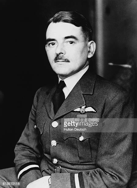Sir Frank Whittle the English aeronautical engineer and inventor of the jet engine