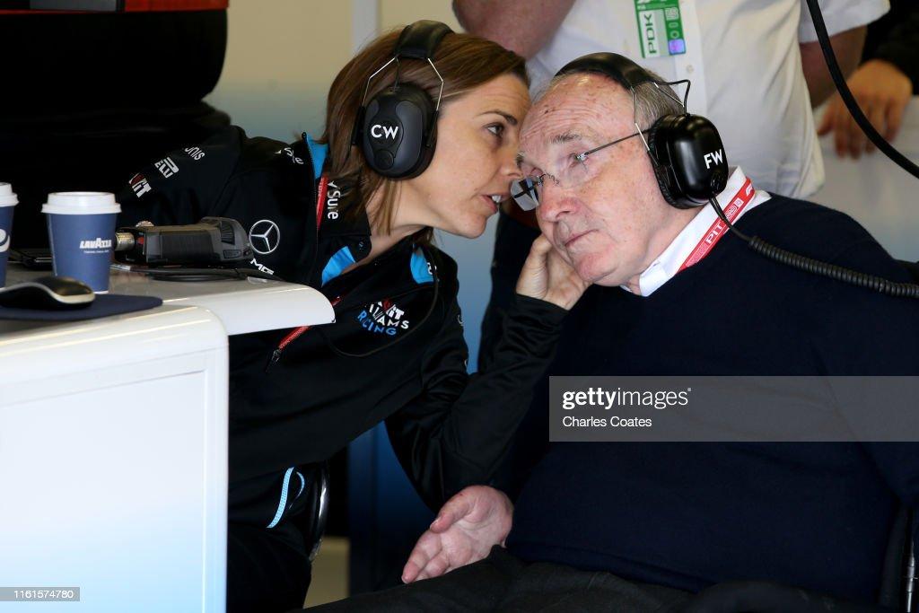 F1 Grand Prix of Great Britain - Practice : ニュース写真