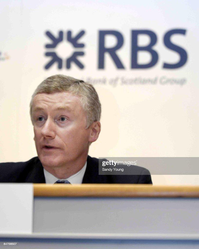 Sir Fred Goodwin, Group Chief Executive RBS Group