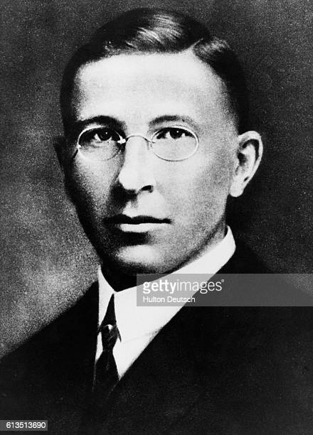 Sir Frederick Grant Banting Candian physician a discoverer of insulin and the receiver of the Nobel Prize for Medicine in 1923