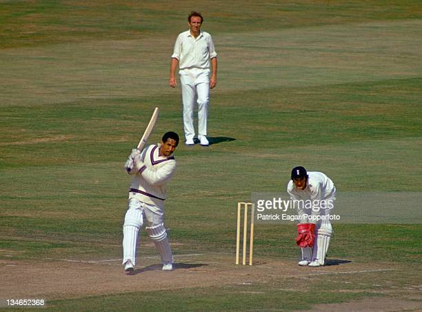 Sir Garfield Sobers batting. ., England v West Indies, 3rd Test, Lord's, August 1973.