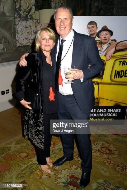 Sir Geoff Hurst attends the after show party following the opening night of Only Fools and Horses The Musical at Theatre Royal Haymarket on February...