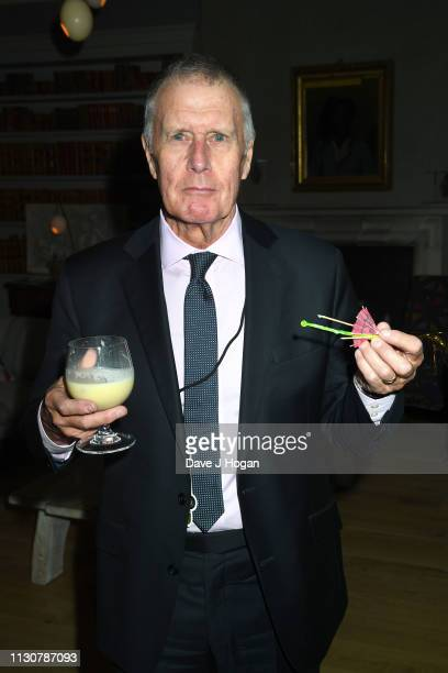 Sir Geoff Hurst attends the opening night of Only Fools and Horses The Musical at Theatre Royal Haymarket on February 19 2019 in London England