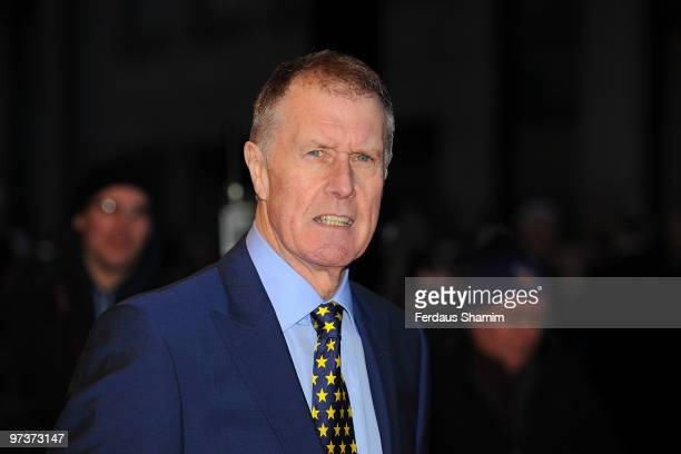 Sir Geoff Hurst attends the UK Film Premiere of The Shouting Men at Odeon West End on March 2, 2010 in London, England.