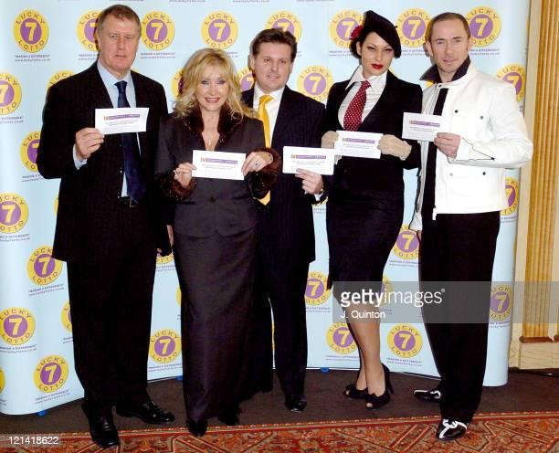 Sir Geoff Hurst, Carol Harrison, Simon Simpson, Immodesty Blaize and Paul Killick