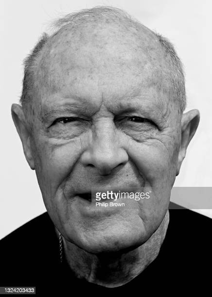 Sir Geoffrey Boycott poses for a portrait on May 17, 2021 in Boston Spa, England. Boycott played in all six Test matches in the memorable 1981 Ashes...
