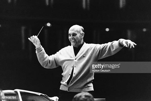 Sir Georg Solti Conducts The Chicago Symphony Orchestra at the Albert Hall.