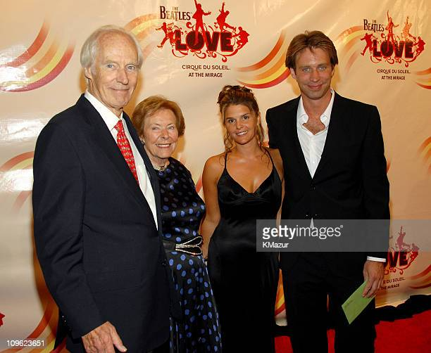 Sir George Martin and son Giles Martin 'LOVE' music coproducers with guests