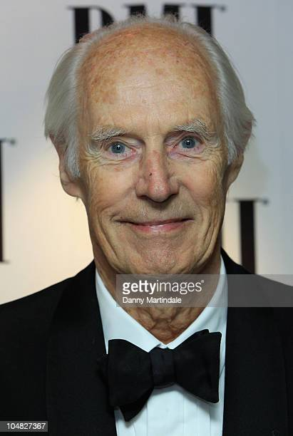 Sir George Martin arrives at BMI Awards at The Dorchester on October 5 2010 in London England
