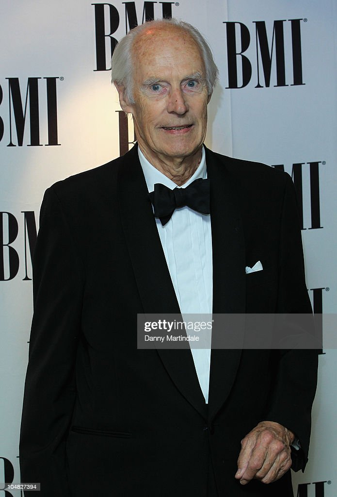 Sir George Martin arrives at BMI Awards at The Dorchester on October 5, 2010 in London, England.