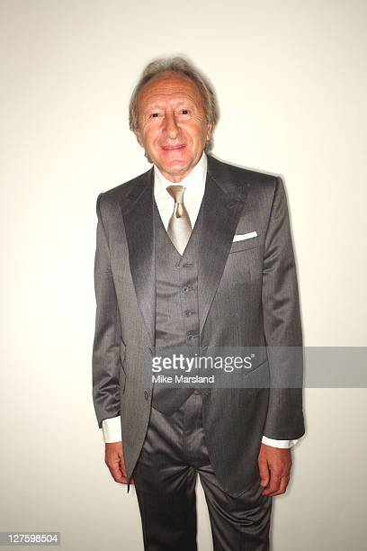 Sir Harold Tilman attend the front row at the Aquascutum show at London Fashion Week Autumn/Winter 2011 on February 22 2011 in London England