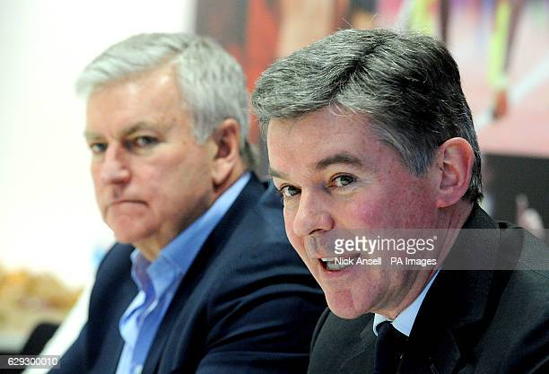 Sir Hugh Robertson the BOA Chairman and Bill Sweeney the BOA Chief executive officer as they discuss success of Rio 2016 the recent Chairman...
