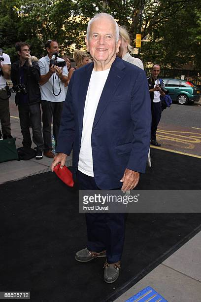 Sir Ian Holm attends the English National Ballet Ballets Russes at Sadler's Wells Theatre on June 16 2009 in London England