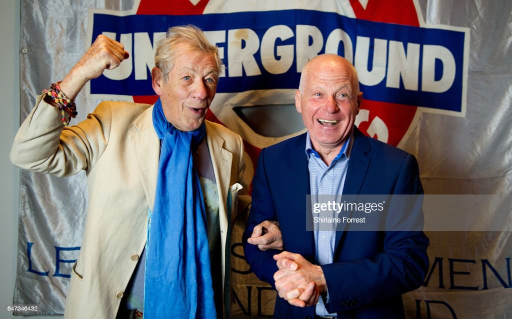 Sir Ian McKellen Opens The 'Never Going Underground' Exhibition At The People's History Museum : News Photo