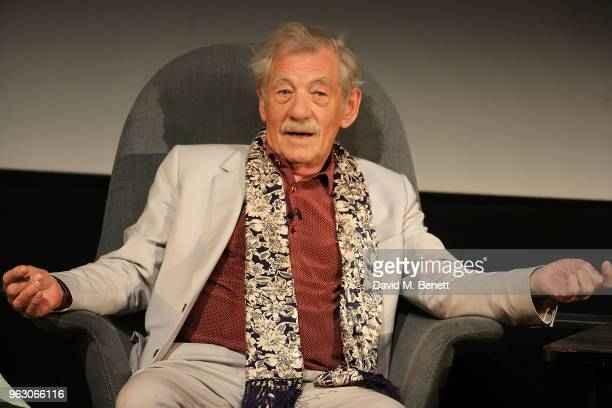 Sir Ian McKellen attends a special screening of 'McKellen Playing the Part' at the BFI Southbank on May 27 2018 in London England