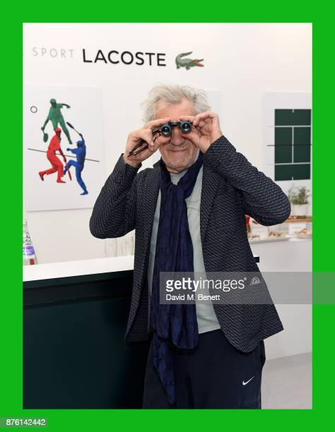 Sir Ian McKellen attends Lacoste VIP Lounge during 2017 ATP World Tour Semi Finals at The O2 Arena on November 18 2017 in London England