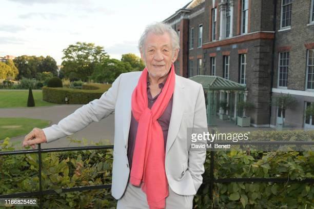 Sir Ian McKellen attends the ATG Summer Party at Kensington Palace Gardens in celebration of Sir Ian McKellen on September 8 2019 in London England