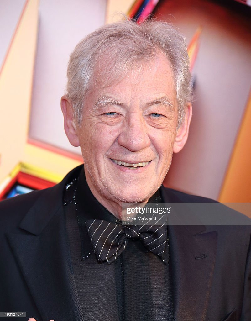 Sir Ian McKellen attends the BFI London Film Festival Awards at Banqueting House on October 17, 2015 in London, England.