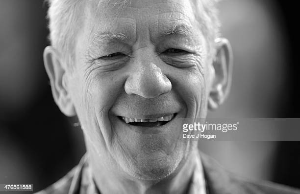 Sir Ian McKellen attends the UK Premiere of Mr Holmes at the Odeon Kensington on June 10 2015 in London England