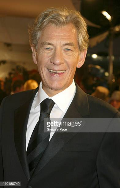 Sir Ian McKellen during 2002 GQ Men of the Year Awards at Hammerstein Ballroom in New York City New York United States