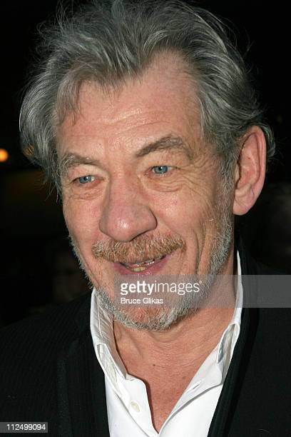 Sir Ian McKellen during 'A Streetcar Named Desire' on Broadway Arrivals at Roundabout Theater at Studio 54 in New York City New York United States