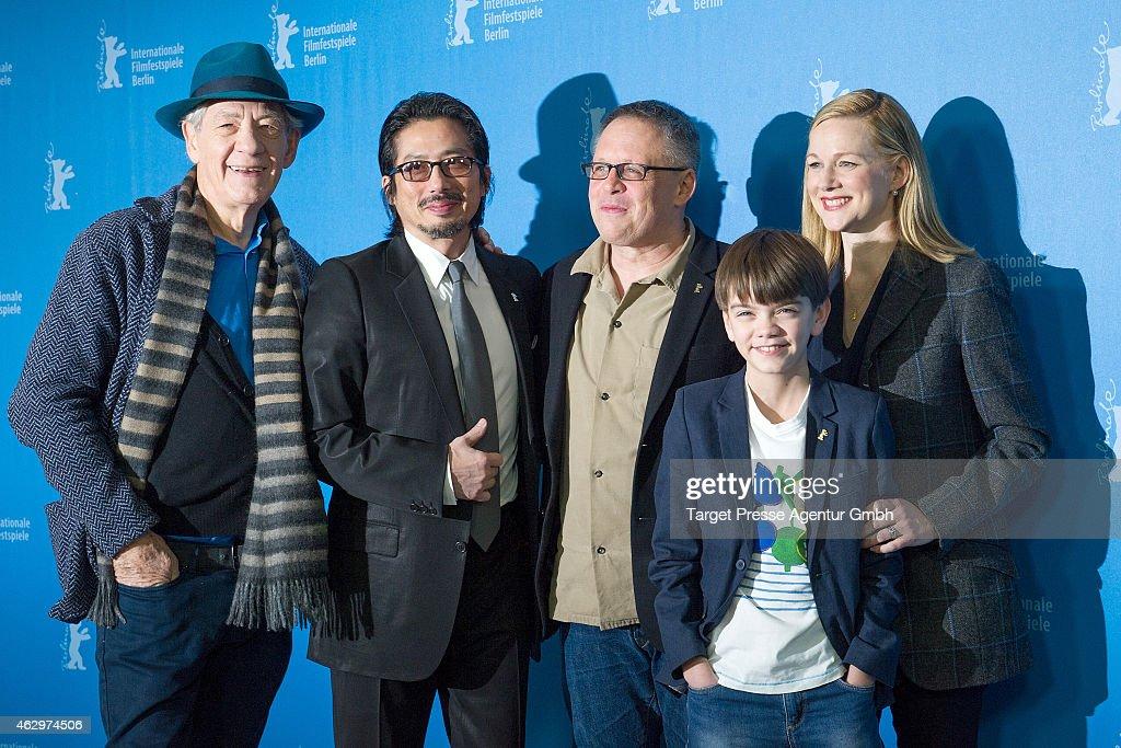 'Mr. Holmes' Photocall - 65th Berlinale International Film Festival : ニュース写真