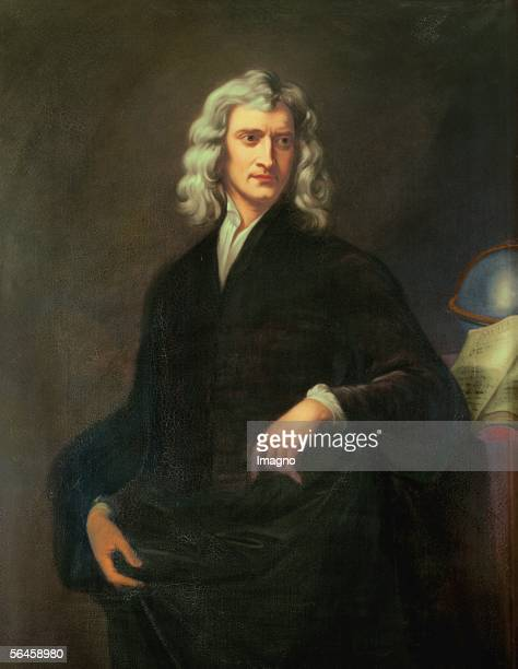 Sir Isaac Newton Canvas [Sir Isaac Newton Gemaelde]
