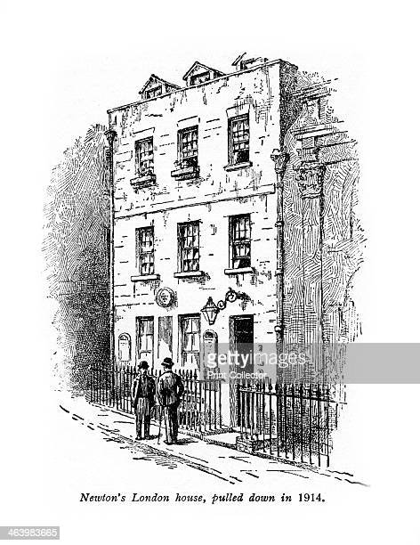 Sir Isaac Newton's house London Newton's house on the corner of Orange and St Martin's Streets was pulled down in 1914 English scientist and...