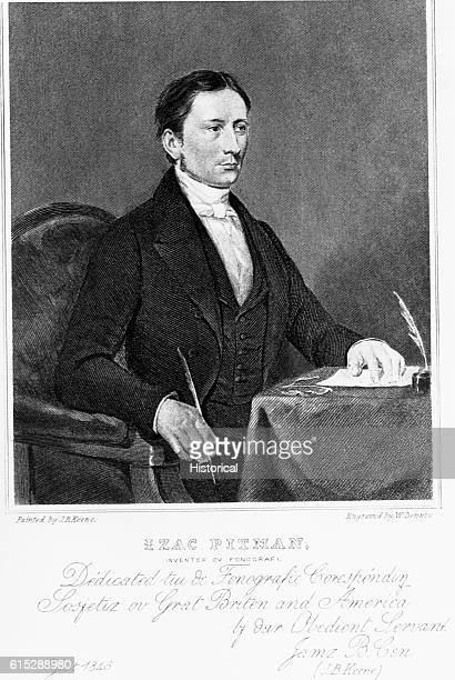 Sir Isaac Pitman was an English phonographer who developed an original shorthand based on phonographic or phonetic principles