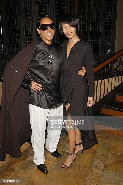 Sir Ivan and Mei Sze attend Wayuu Taya Foundation Dinner at Tribeca Grand Hotel NYC USA on June 20 2005