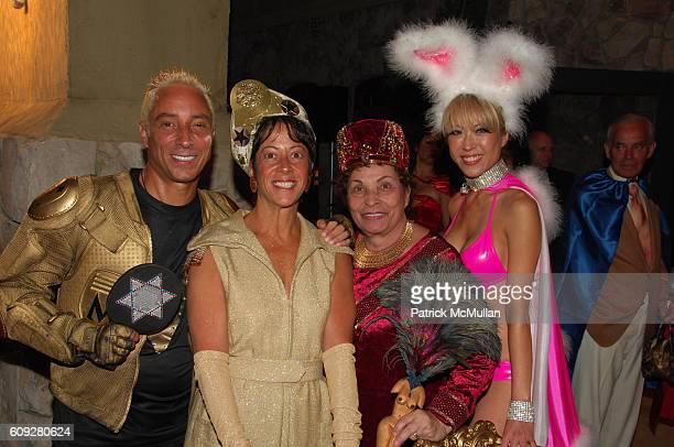 Sir Ivan Mr Mitzvah Wilzig Sherry Wilzig Izak Naomi Wilzig and Mina Otsuka attend WHO WANTS TO BE A SUPERHERO premiere party at Sir Ivan Wilzig...