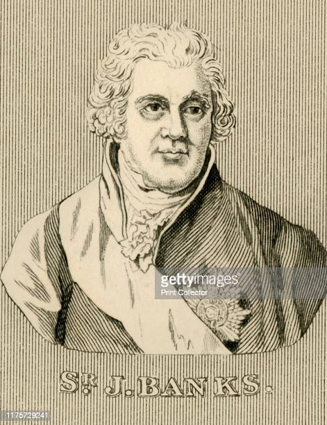 Sir J Banks' 17431820 1830 Sir Joseph Banks English naturalist botanist and patron of the natural sciences took part in Captain James Cook's first...