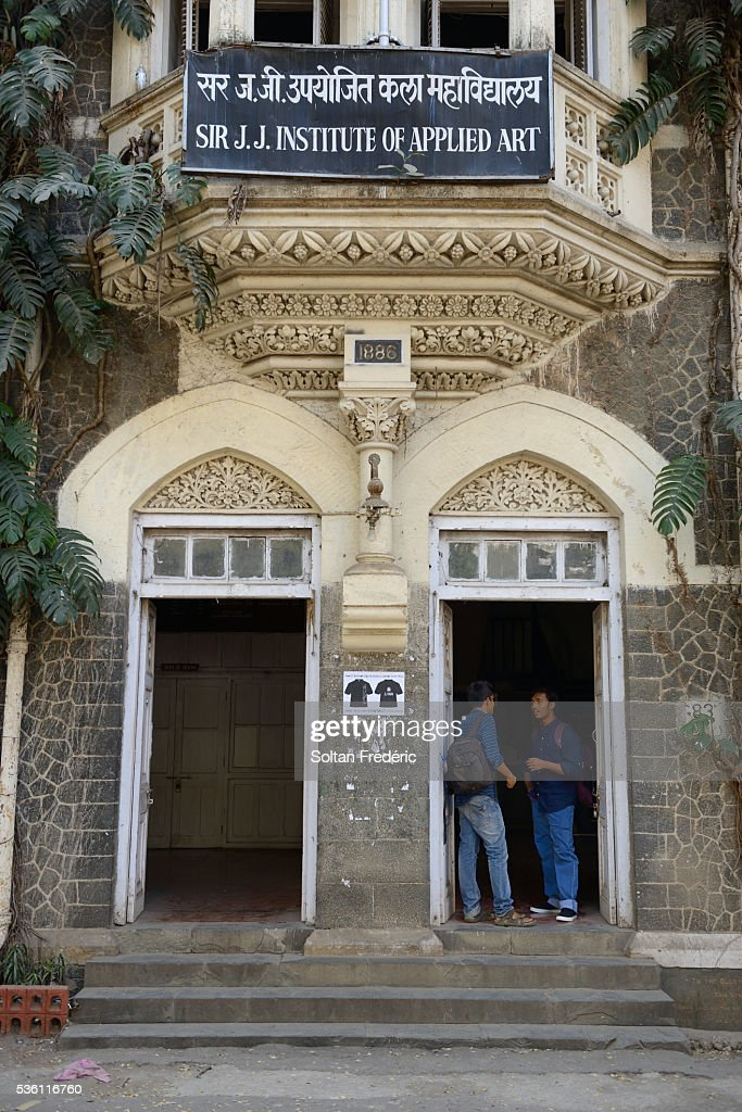 Sir J J School Of Art In Mumbai High Res Stock Photo Getty Images