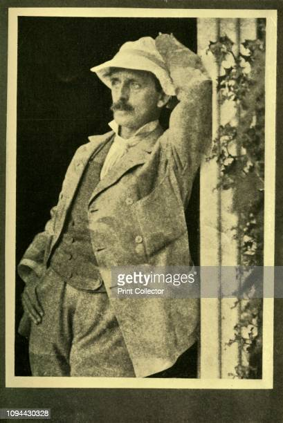 Sir J M Barrie' 1928 Scottish novelist and dramatist Sir James Matthew Barrie is best remembered as the author of 'Peter Pan' From 'The Bookman...