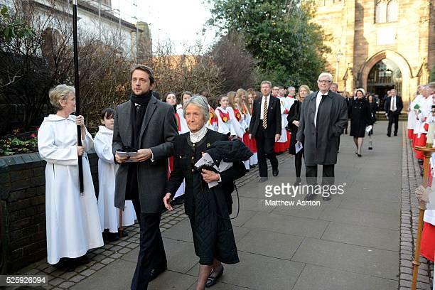 Sir Jack Hayward funeral Rachael HeyhoeFlint