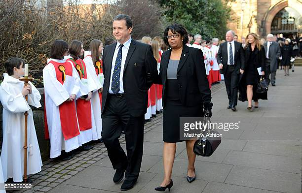 Sir Jack Hayward funeral Wolves chief executive Jez Moxey