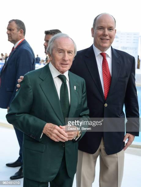 Sir Jackie Stewart and His Serene Highness Prince Albert of Monaco attend Amber Lounge U*NITE 2018 in aid of Sir Jackie Stewart's foundation 'Race...