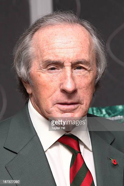 Sir Jackie Stewart attends the press conference for 'Weekend Of A Champion' at Crosby Street Hotel on November 7 2013 in New York City